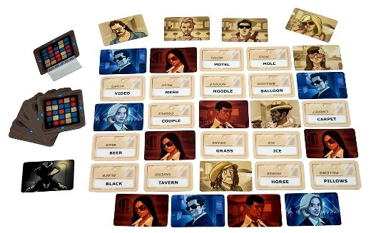Codenames Game Components