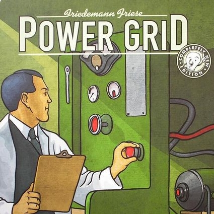 Power Grid - Power Grid is a Euro game with a ton of very interesting mechanics. You play as an owner of a power company and you compete against other companies to power the most cities and ultimately earn the most money. The game consists of rounds where you bid on different types of power plant that are powered by various forms of commodity resources (oil, coal, nuclear, etc...). The cost and availability of these resources changes throughout the game, so you have to be mindful of the supply/demand of the commodities throughout the entire game. The supply/demand aspect is what I really like about Power Grid and your strategy in this game is really reliant on what your competition is doing.