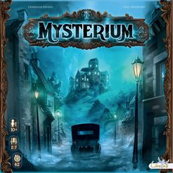 Mysterium - In the 1920's, Mr. MacDowell, a gifted astrologist, entered in his new house when he immediately detected a surnatural being. Gathering eminent mediums of his time for an extraordinary seance, they will have 7 hours to contact the ghost and investigate to unlock an old mystery…Unable to talk, the amnesic ghost will communicate with the mediums through visions (illustrated cards). They will have to decipher the images to help the ghost remember how he was murdered (who? where? which weapon?). The more they cooperate and guess well, the easier it will be to the catch the right culprit.
