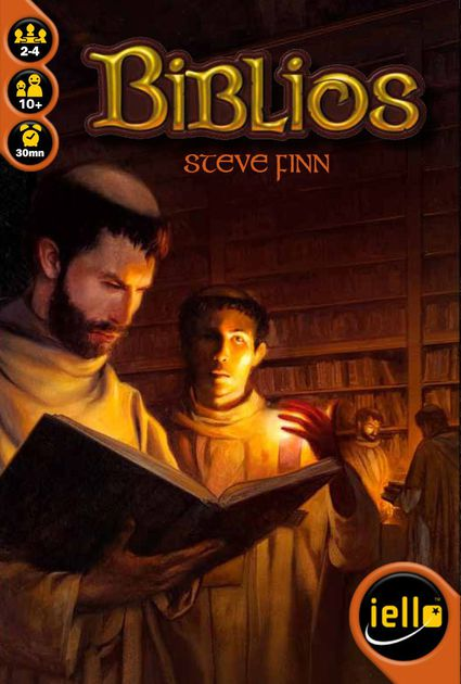 Biblios - Biblios is one of the most complex filler games that I own because it is very easy to teach and play anywhere, but also takes good planning and strategic bidding. The game can be played with 2-4 players but I find this game the best with 2-players because of the 1 vs 1 strategic element that takes place. During the auction phase you are trying to up the bid on your opponent but also have to decide what is worth the cost. It's a great head to head battle and I have played this game dozens of times with all different amount of players. The simple mechanics really draw in people who are new to games and typically everyone wants to play a second time once they figure out the strategy from the first game. This game is also on my top 10 lists of all time because of the scalability, portability, and ease of teaching.Check out our Biblios Overview Page!