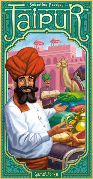Jaipur - Jaipur is a fantastic 2-player only game that is played over a best out of 3 rounds. The game can be played in 30 minutes or less and it is very easy to learn. This game is #1 on the list because it is very hard to find a strategic, fun, and easy to learn 2-player only game. For example, Twilight Struggle, #10 on the list, is an excellent 2-player game but is way more strategic, complex, and will take a few hours to play.Jaipur hits that perfect stride of strategy and quick play. It is super portable and very easy to teach, which is another big reason for this #1 ranking. It will keep you intrigued with trying to out maneuver your opponent with collecting tokens along with selling and buying goods. A trading game that is perfect for 2-player is rare to find and this is an absolute must to own for some great 2-player fun!
