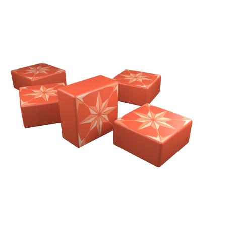 Special Designed Red Tiles (Click to Purchase)