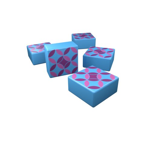 Special Designed Blue Tiles (Click to Purchase)