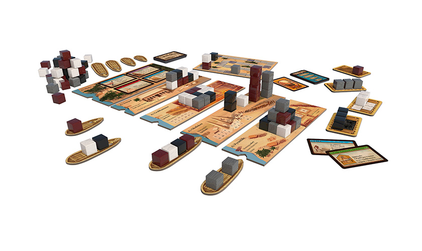 Imhotep Board Game Components.jpg
