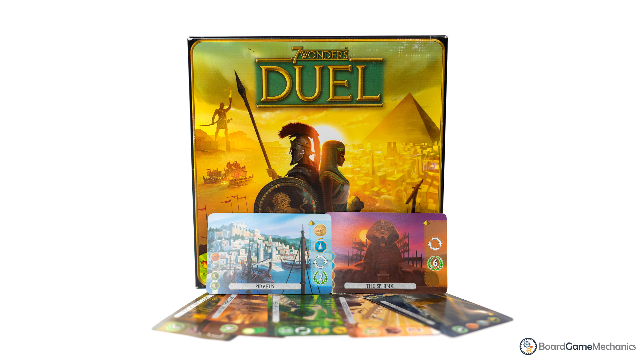 7 Wonders Duel Board Game Review