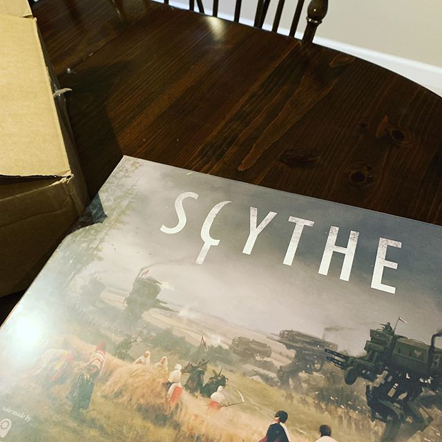 Still can't believe I was able to get this for $40 bucks on Amazon! #whatadeal #donttellmywife #scythe