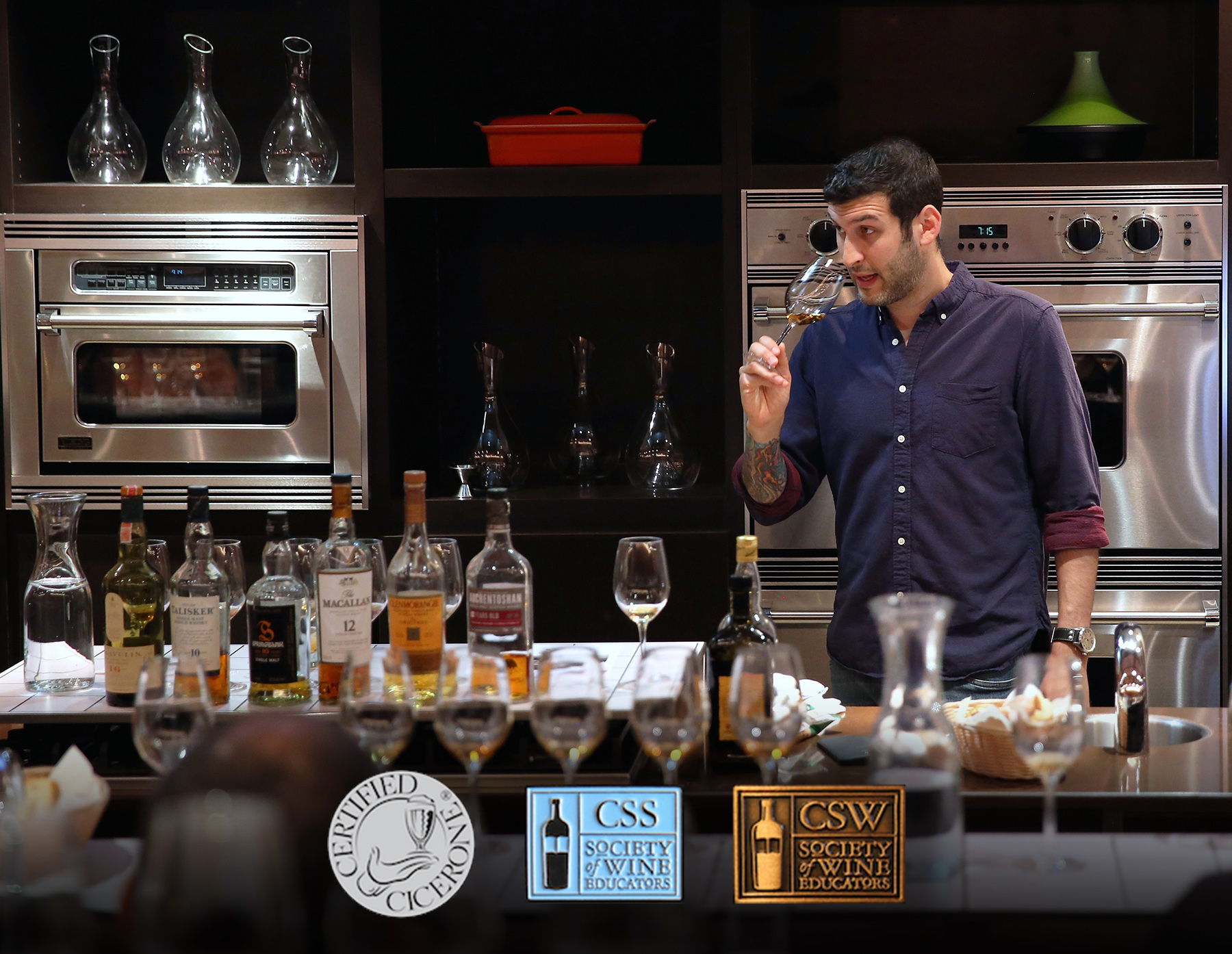 BEVERAGE EDUCATION & Consulting - As a Certified Cicerone®, Certified Specialist of Spirits (CSS), and a Certified Specialist of Wine (CSW), I've taught beer, wine, and spirits classes at Astor Center, The Brooklyn Kitchen, and NYC Wine Company. I've hosted branded events for The Glenrothes, High West Distillery, Anheuser-Busch, Pabst, Brookfield Place, and Prosciutto di Parma, and have spoken at trade and consumer events around the world such as Thirst Boston, the Beer Marketing & Tourism Conference, Euphoria, and the US Beverage Expo.In 2016, I spent a year as the Beer Director for Merchants Hospitality, buying beer and curating menus for five downtown New York restaurants.