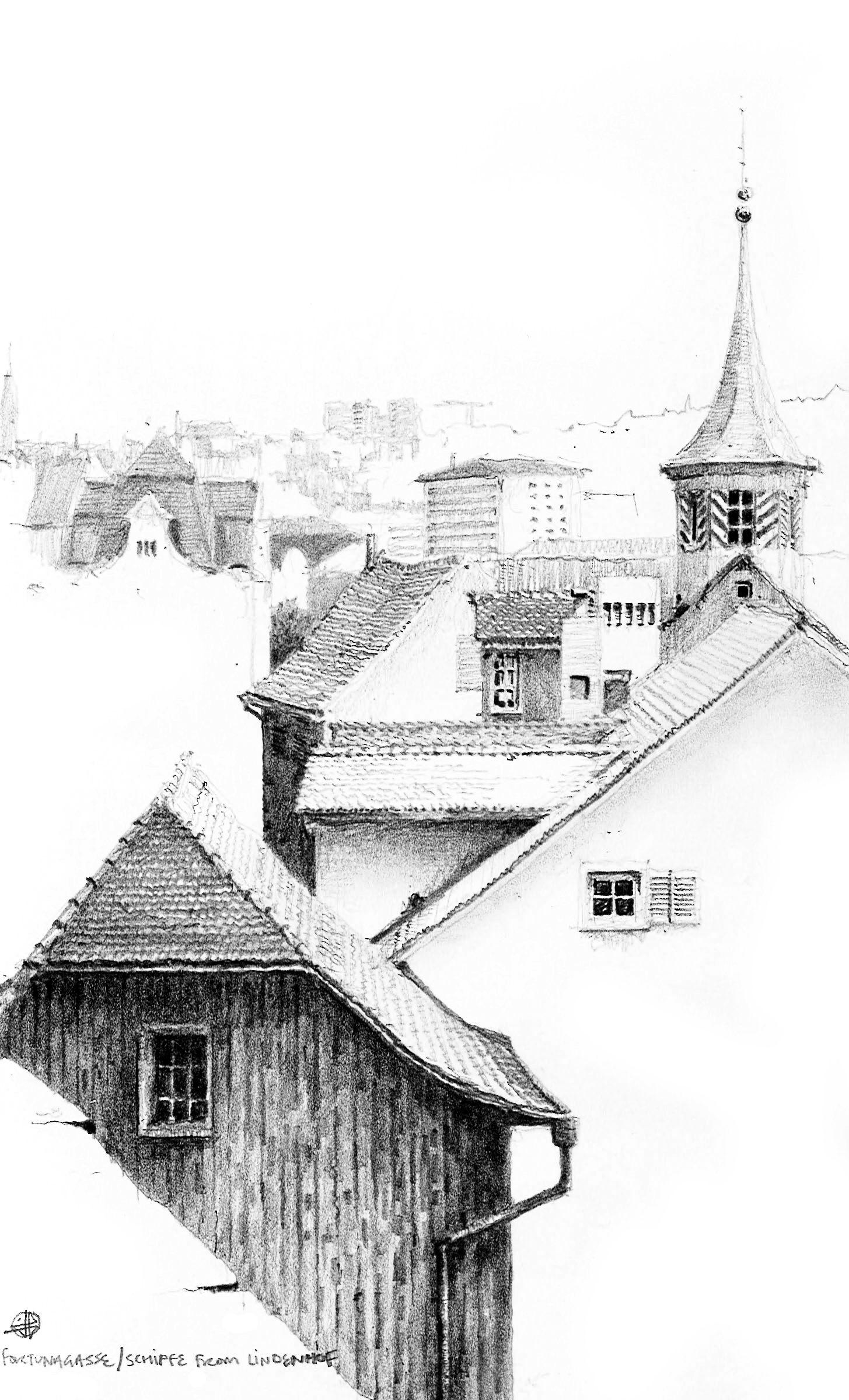 Fortunagasse & Schipfe, Zurich Altstadt