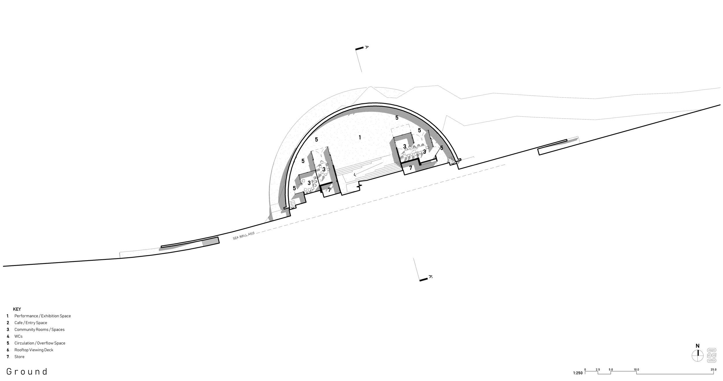 Oriental Bay Competition, Wellington - Lower Plan