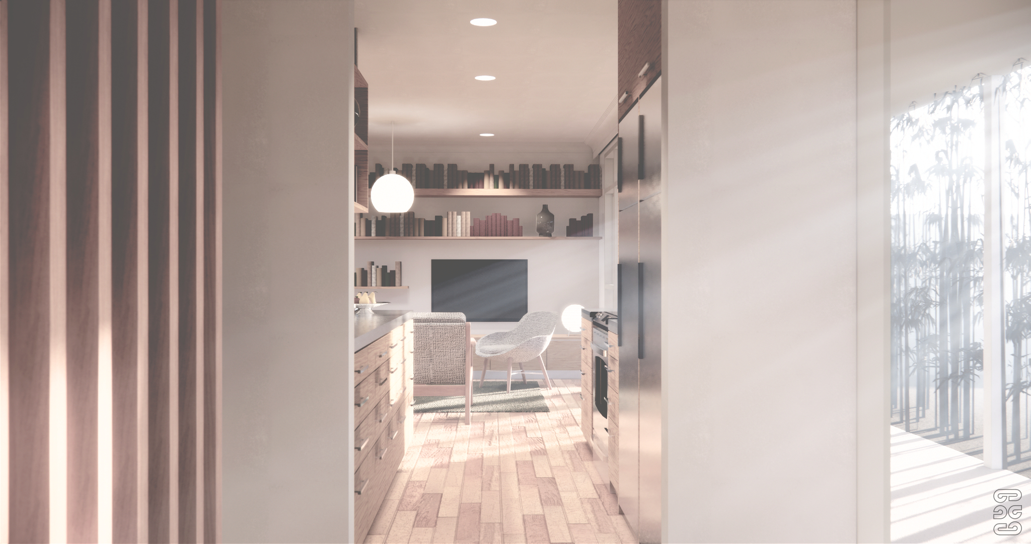 House Alterations - Hamilton, Interior Perspective