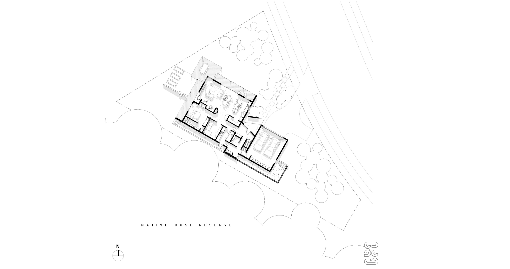 Taupo Passive House - Plan (Ground).jpg