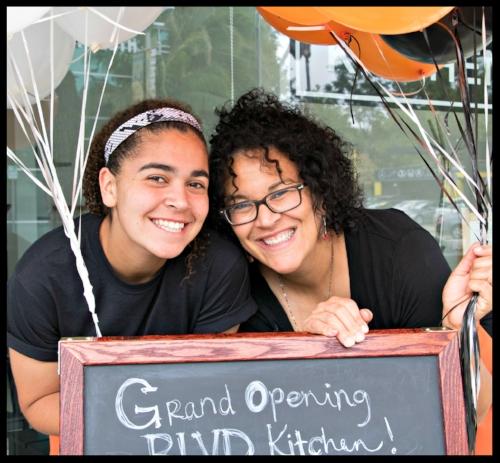 SHARON GRAVES and her daughter, RACHEL