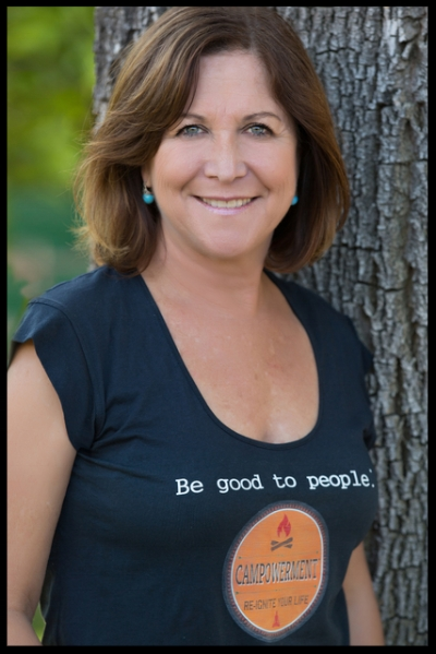 TAMMI LEADER FULLER   - the Visionary behind CAMPOWERMENT