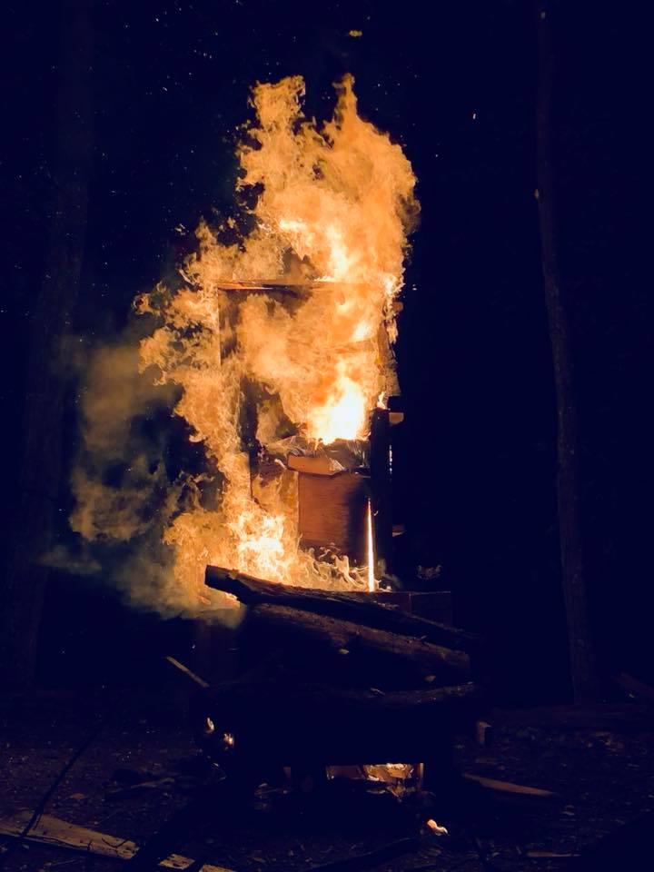 Deep Cuts Bonfire Raging