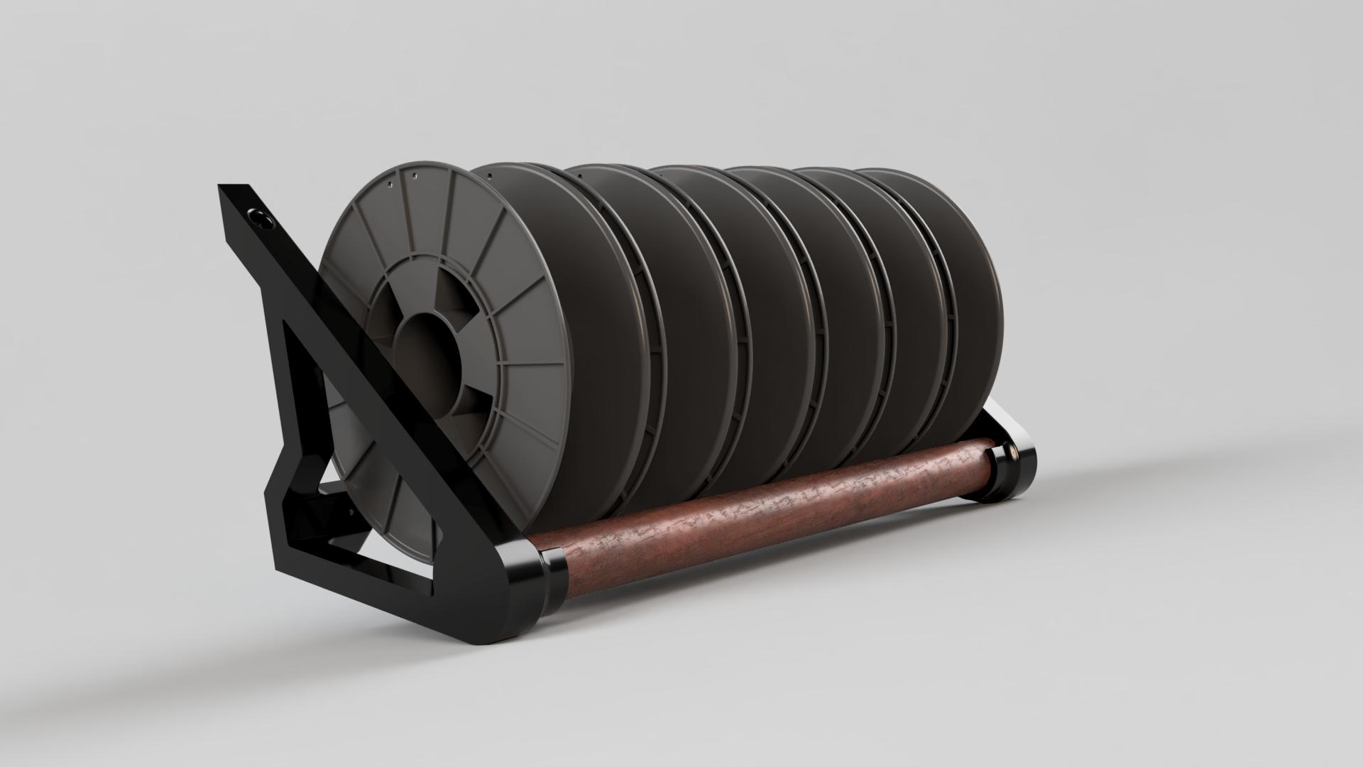 Filament Spool Rack_Mahogany.png
