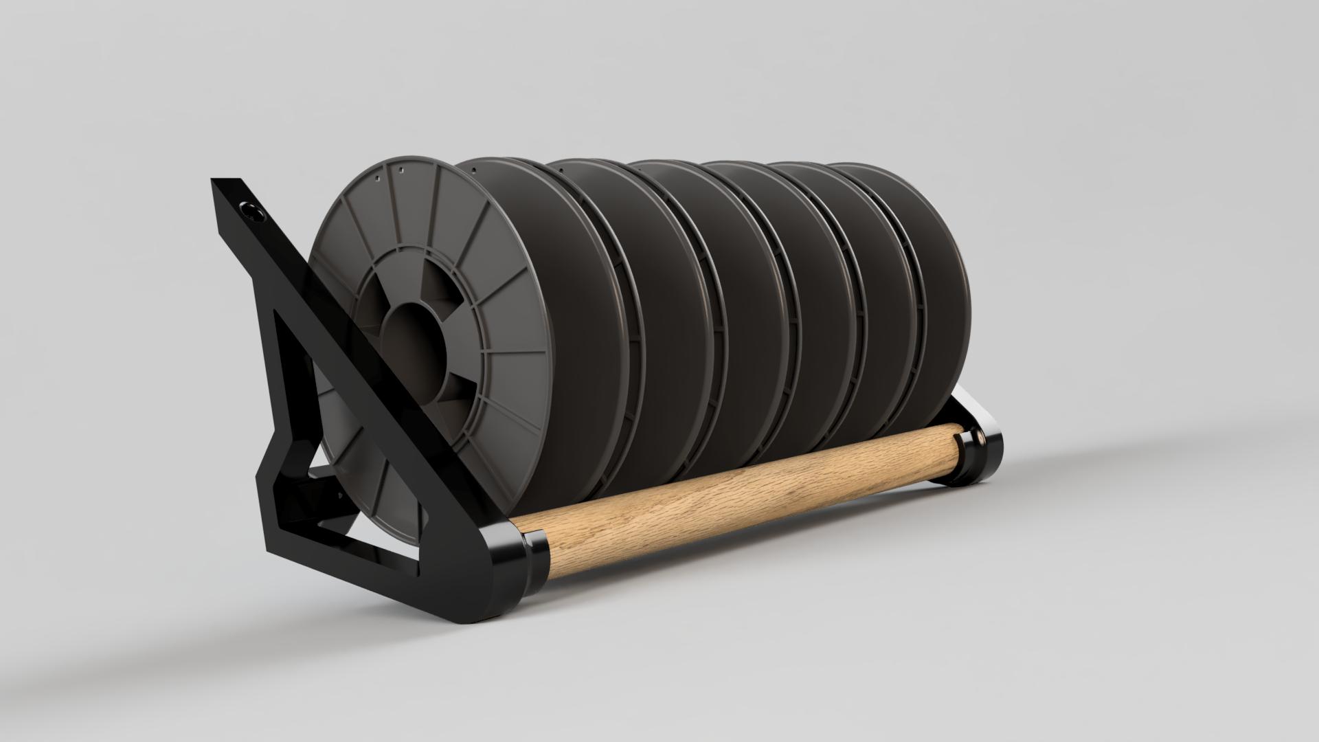 Filament Spool Rack_Oak.png