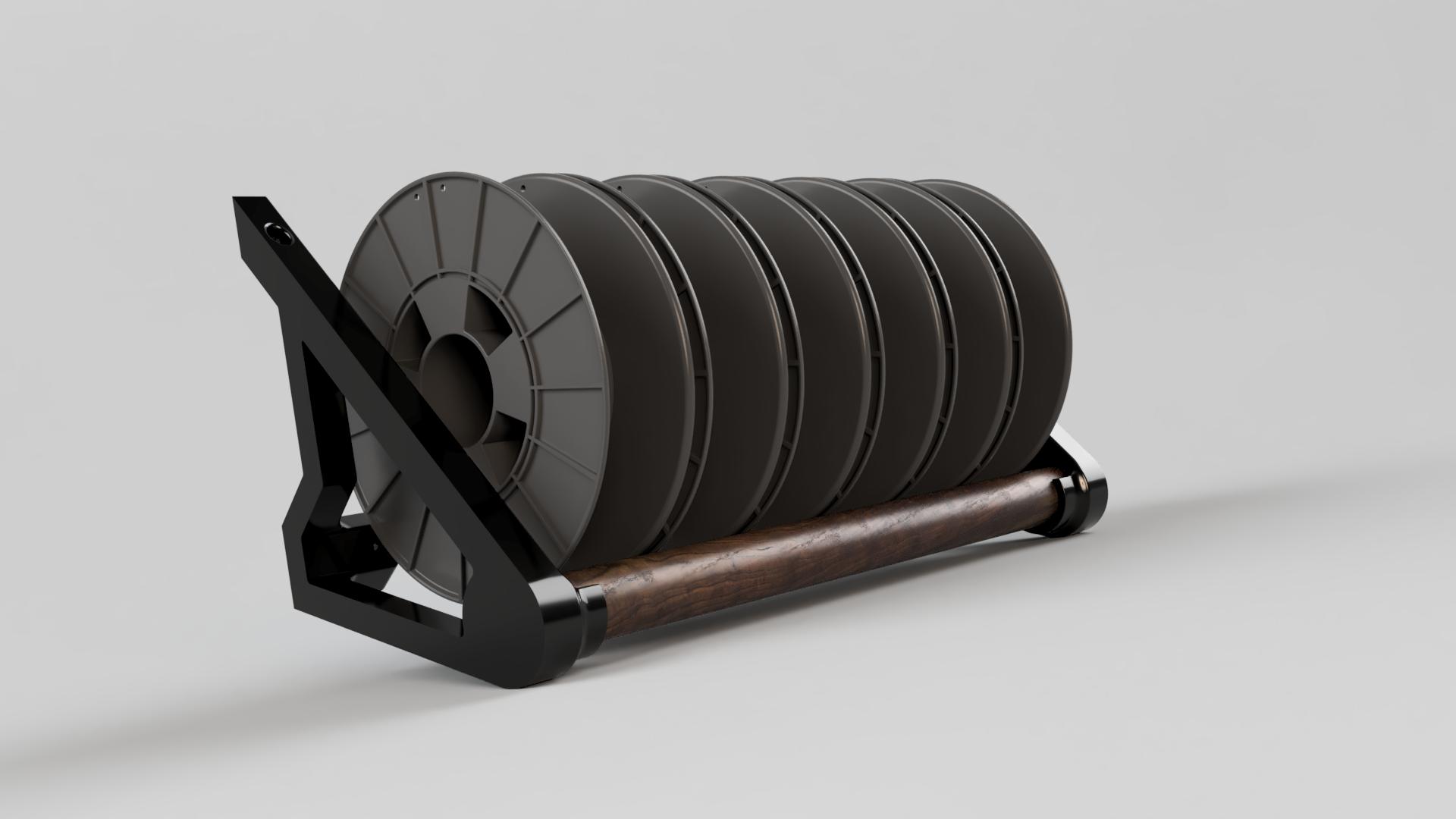 Filament Spool Rack_Walnut.png