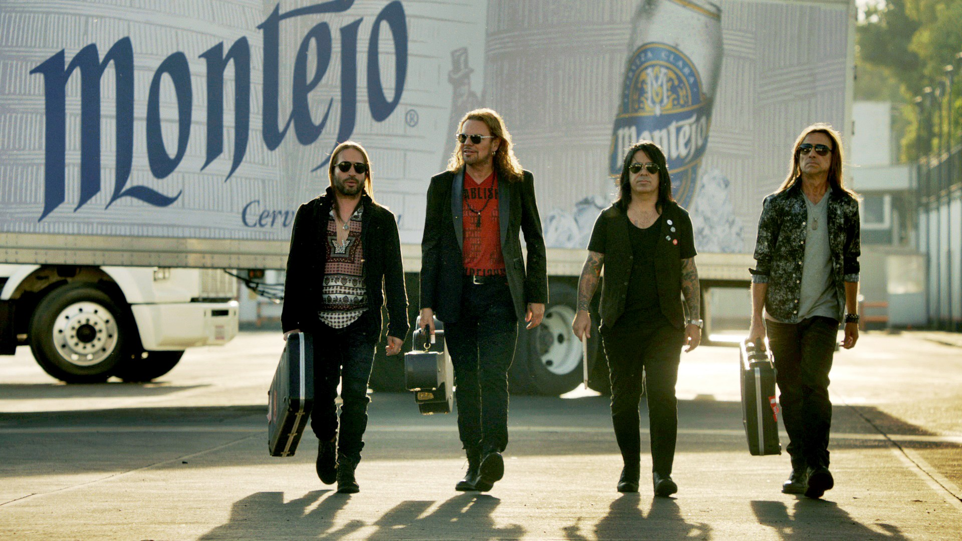 Photo of Maná from the shoot
