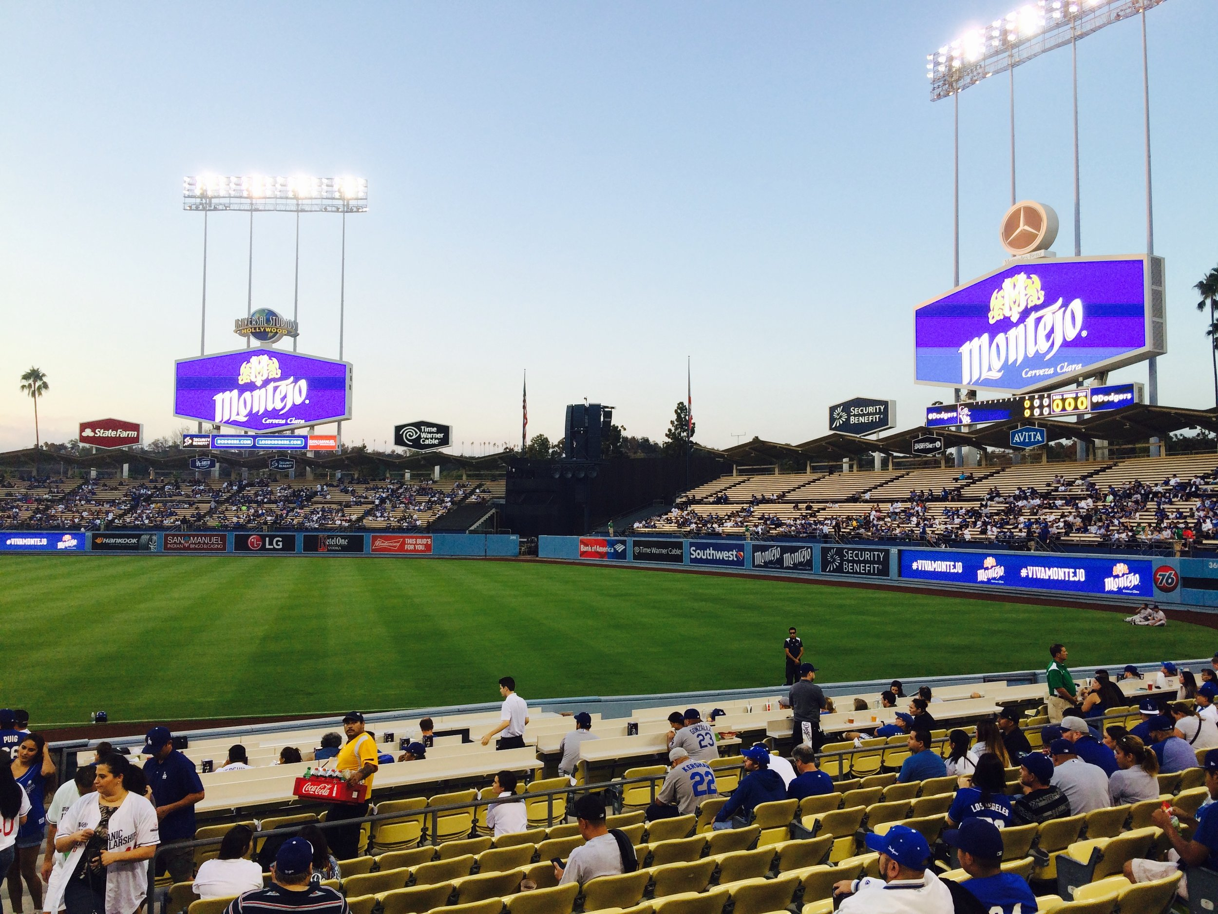 Branding at Dodgers Stadium