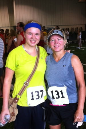 Mom and me in 2011 after running my first 10k!