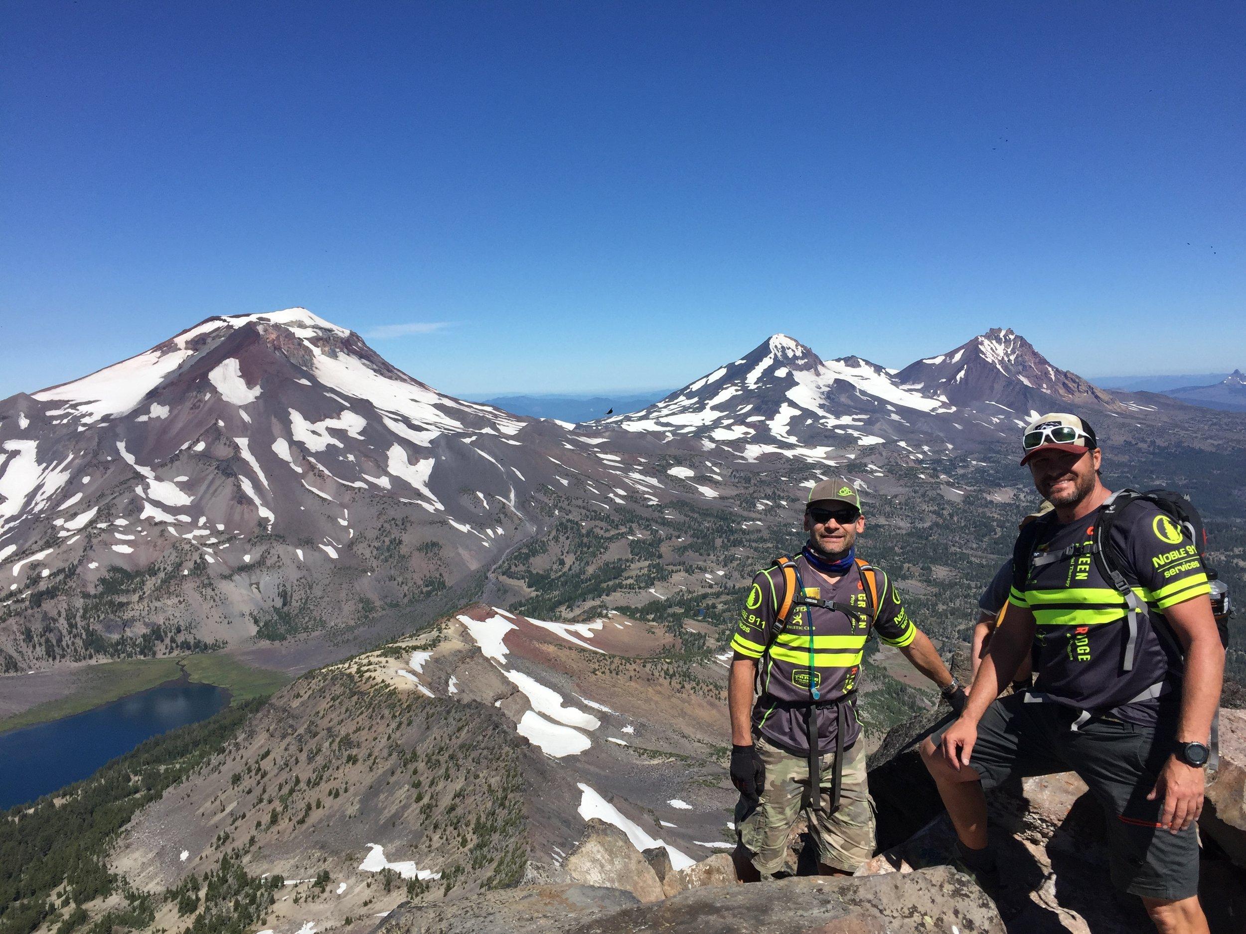 Greg and Rich's 2018 Broken Top climb