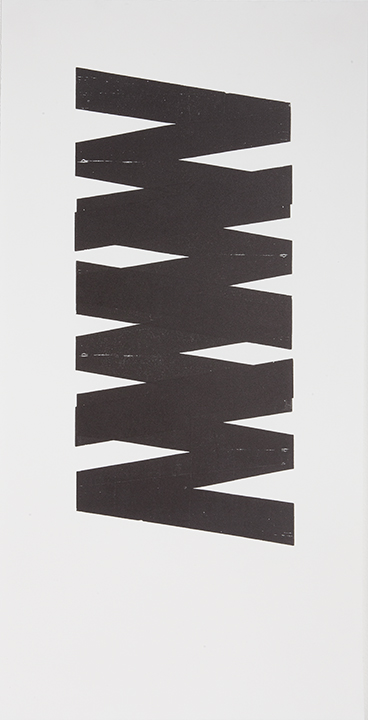 Villa Magdalena K Residency, Hamburg, Germany // Letterpress Print, Untitled