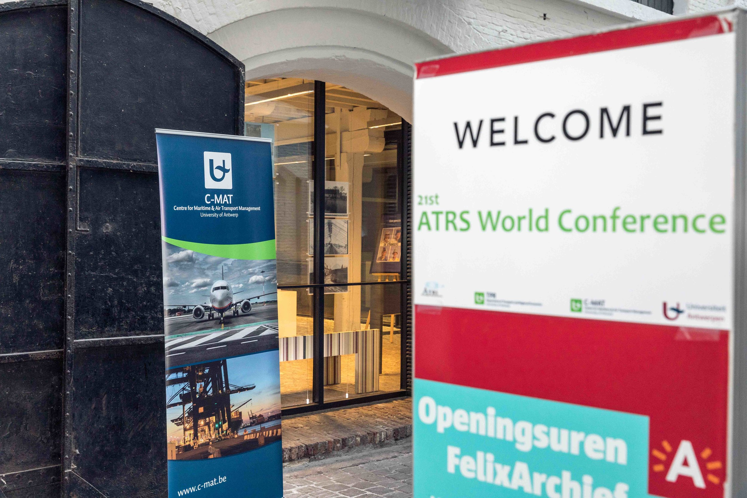 Welcome Reception at FelixArchief ATRS 2017 Antwerp