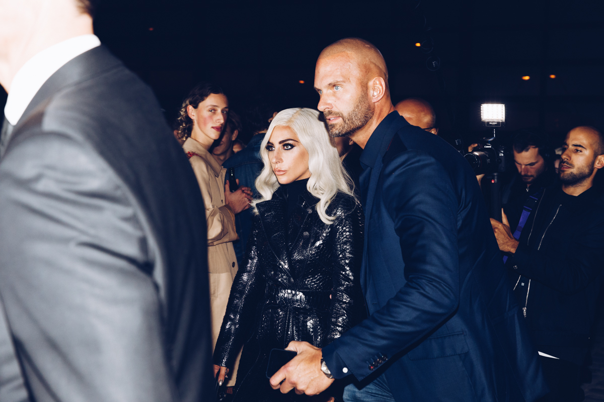 LADY GAGA after Celine show during Paris Fashion Week by Alexis Breugelmans© Alexis Breugelmans, All Rights Reserved.