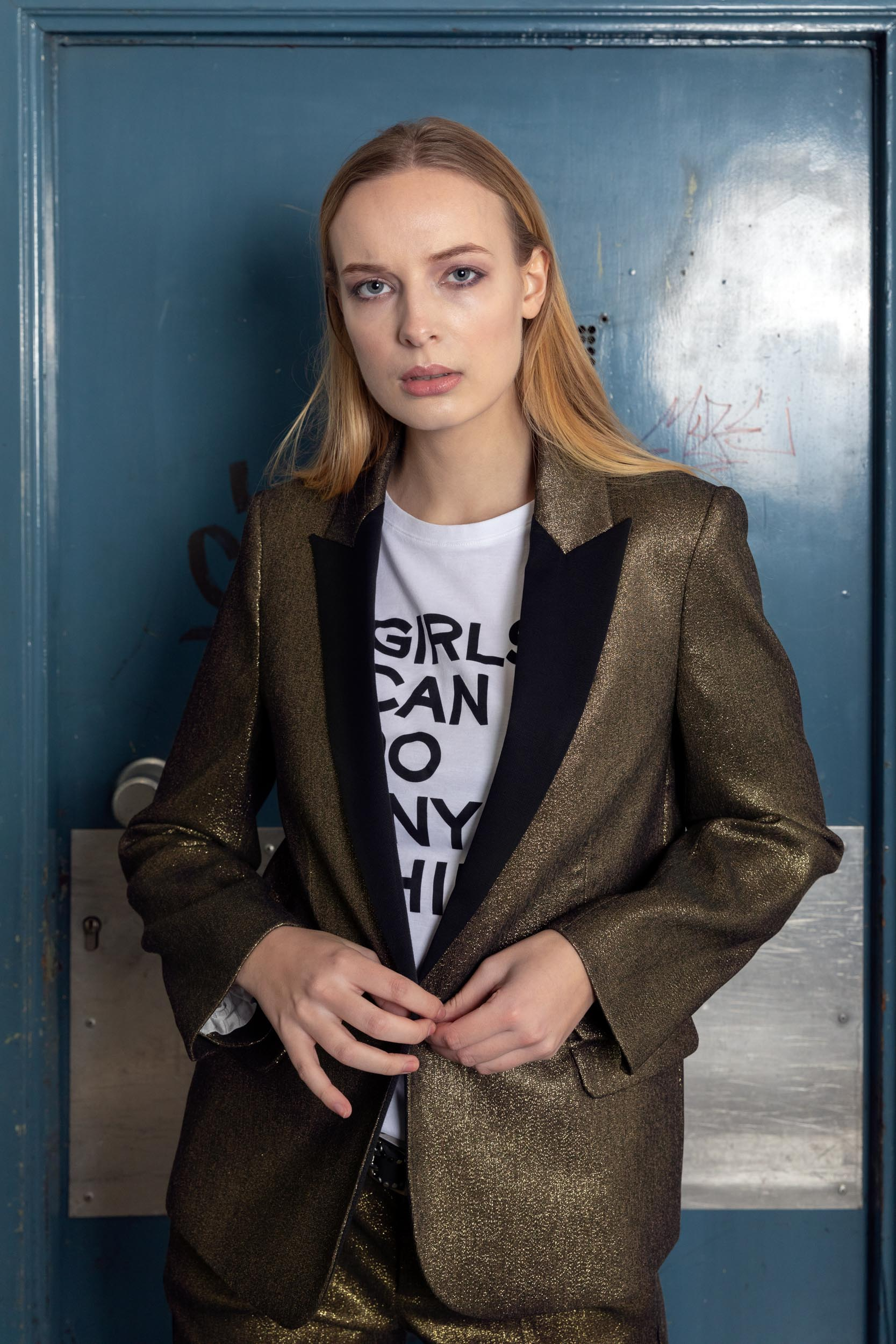 Photo & retouch: Alexis BreugelmansModel: Lauren de Bie from Just Jess ModelsMake-up: Sarah CluyseHair: Imke MelisAssistant: Sara De ClerckClothing: Zadig & Voltaire