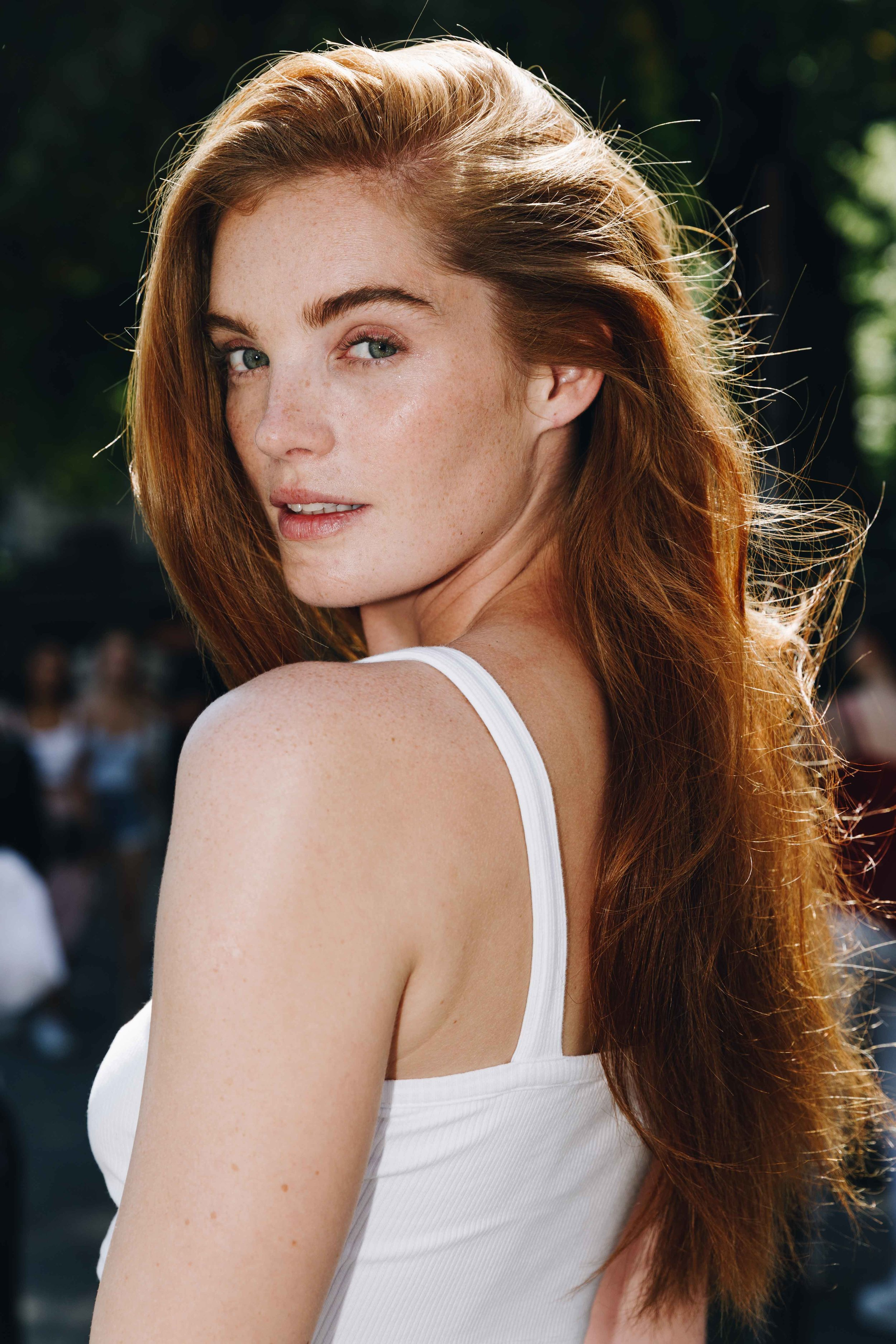 Alexina Graham during Paris Fashion Week Haute-Couture Fall/Winter 2019/2020