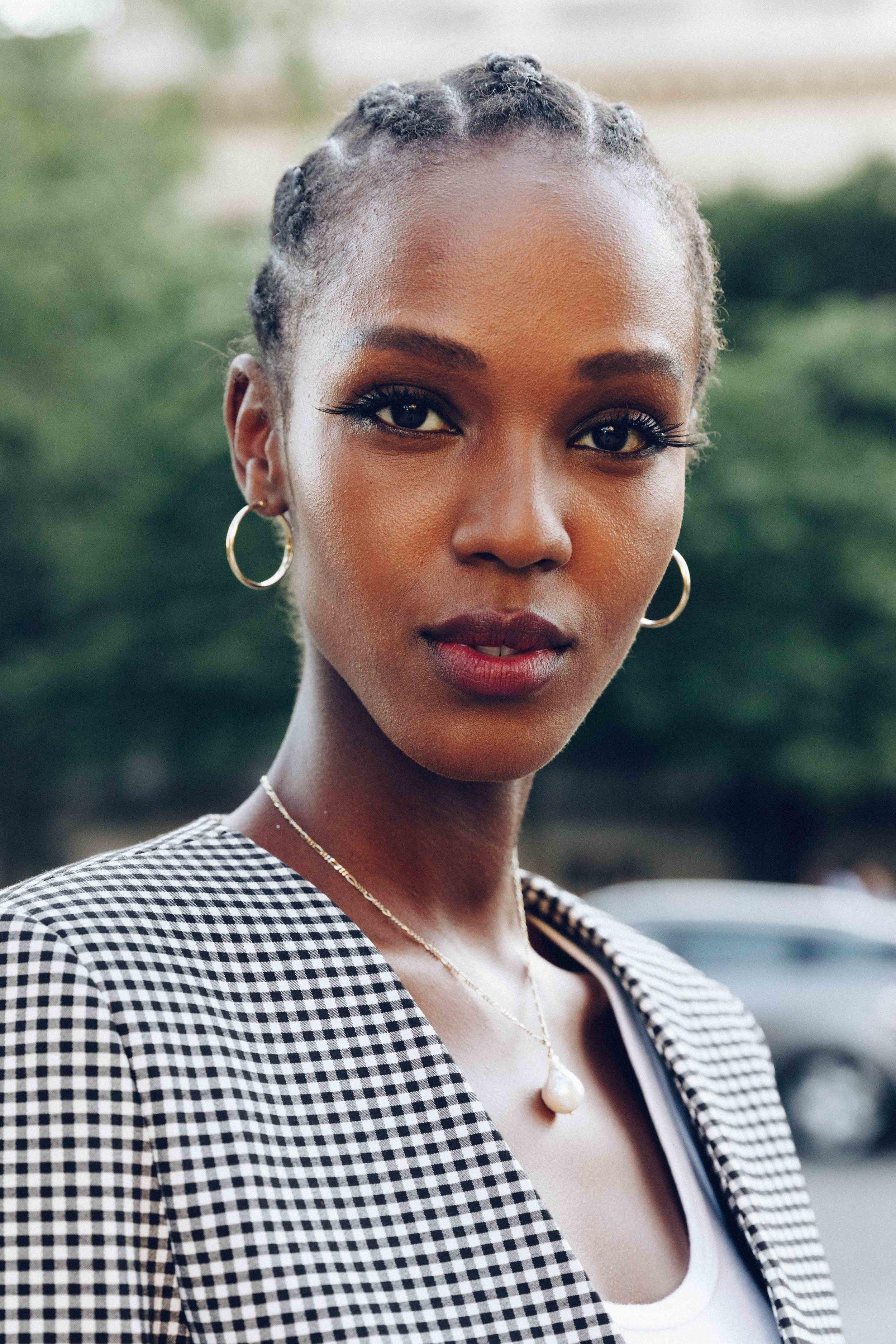 Leila NdaBelgian - Burundian ModelNew York ModelsWomen Management ParisD'Management GroupModels 1Sight Management Studio