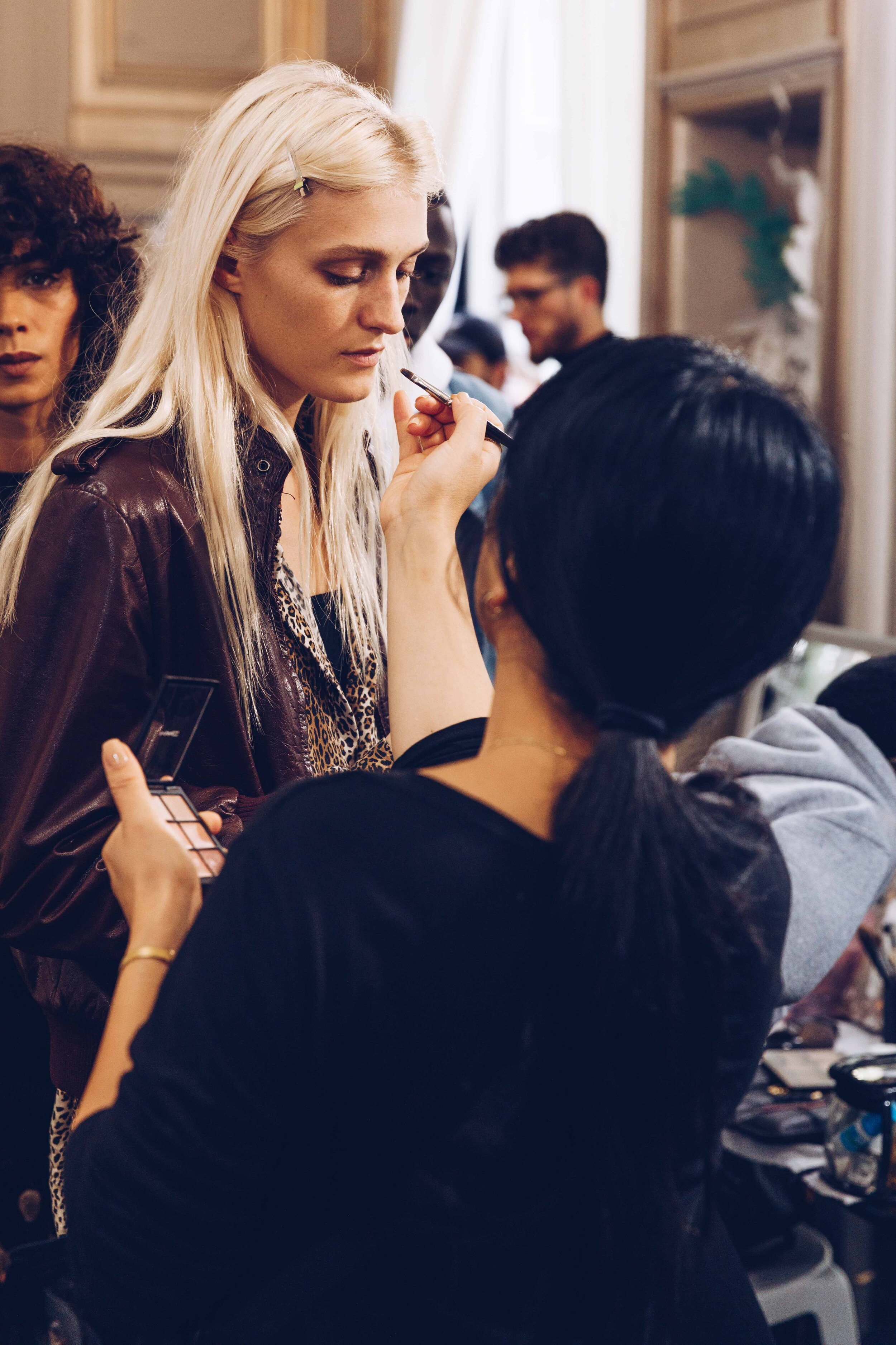 Backstage at Faith Connexion during Paris Fashion Week Spring/Summer 2020 Women