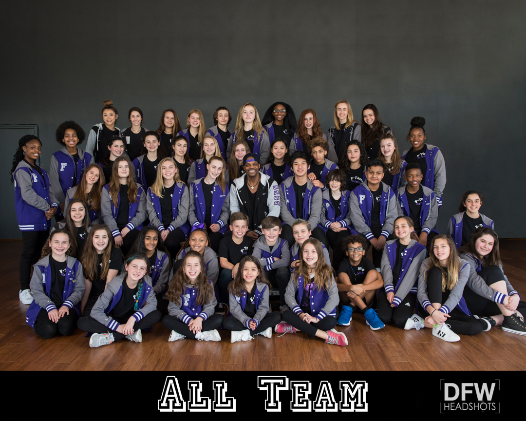 DFWHeadshots-Dance-Team-Portrait