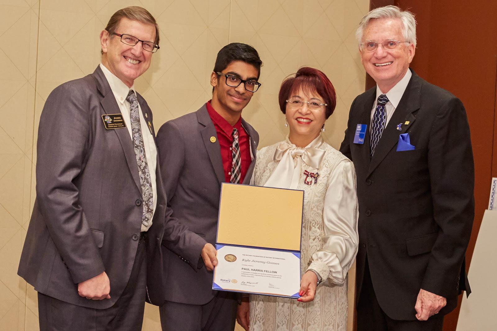 Paul Harris Fellowship Award