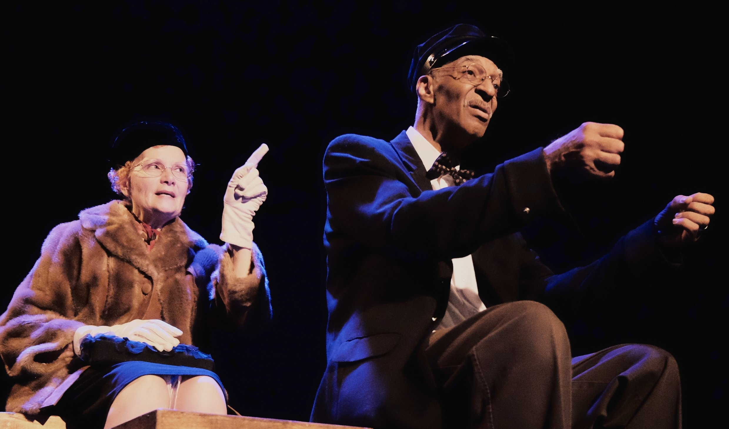 DRIVING MISS DAISY by Alfred Uhry, with Suzanne Lederer and Tone Forrest, 2016.
