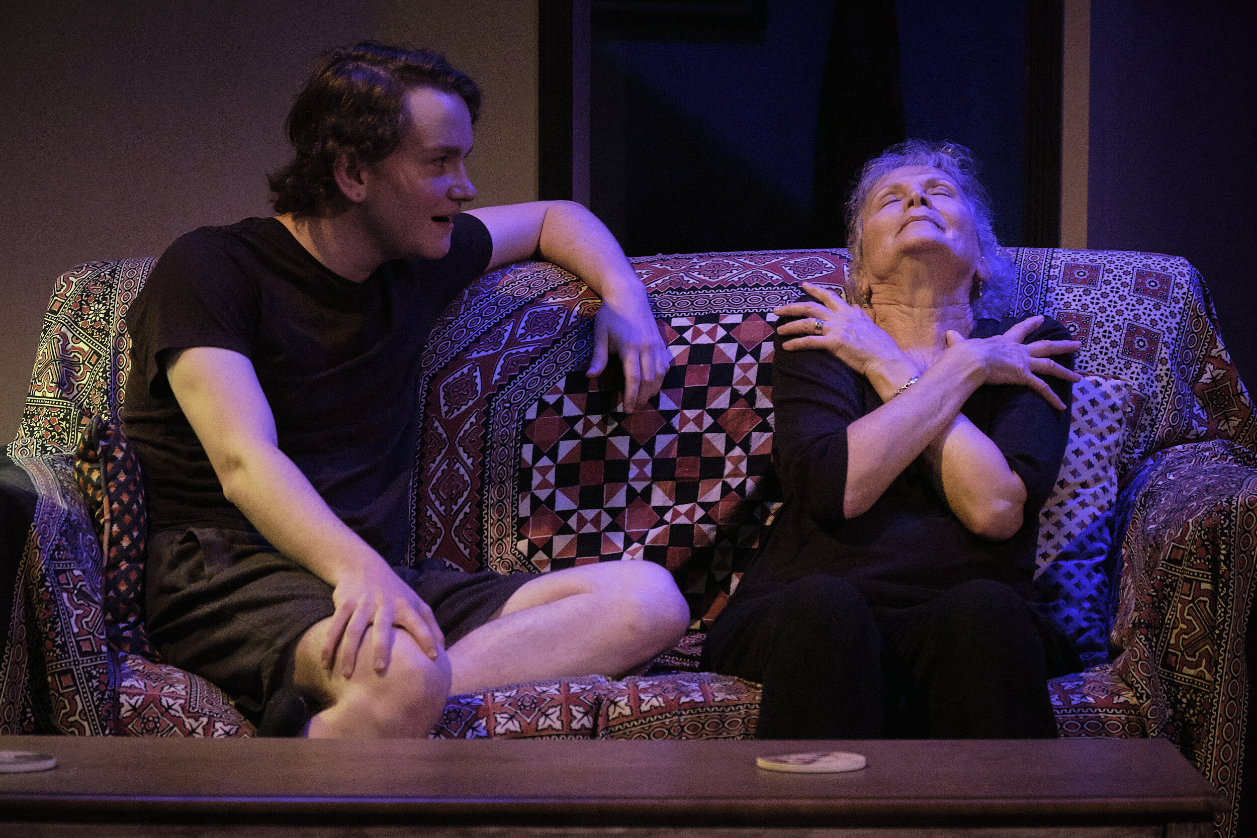 2019 - 4 - 4000 Miles by Amy Herzog, directed by Robert Benedetti, with Mickey Dolan and Suzanne Lederer