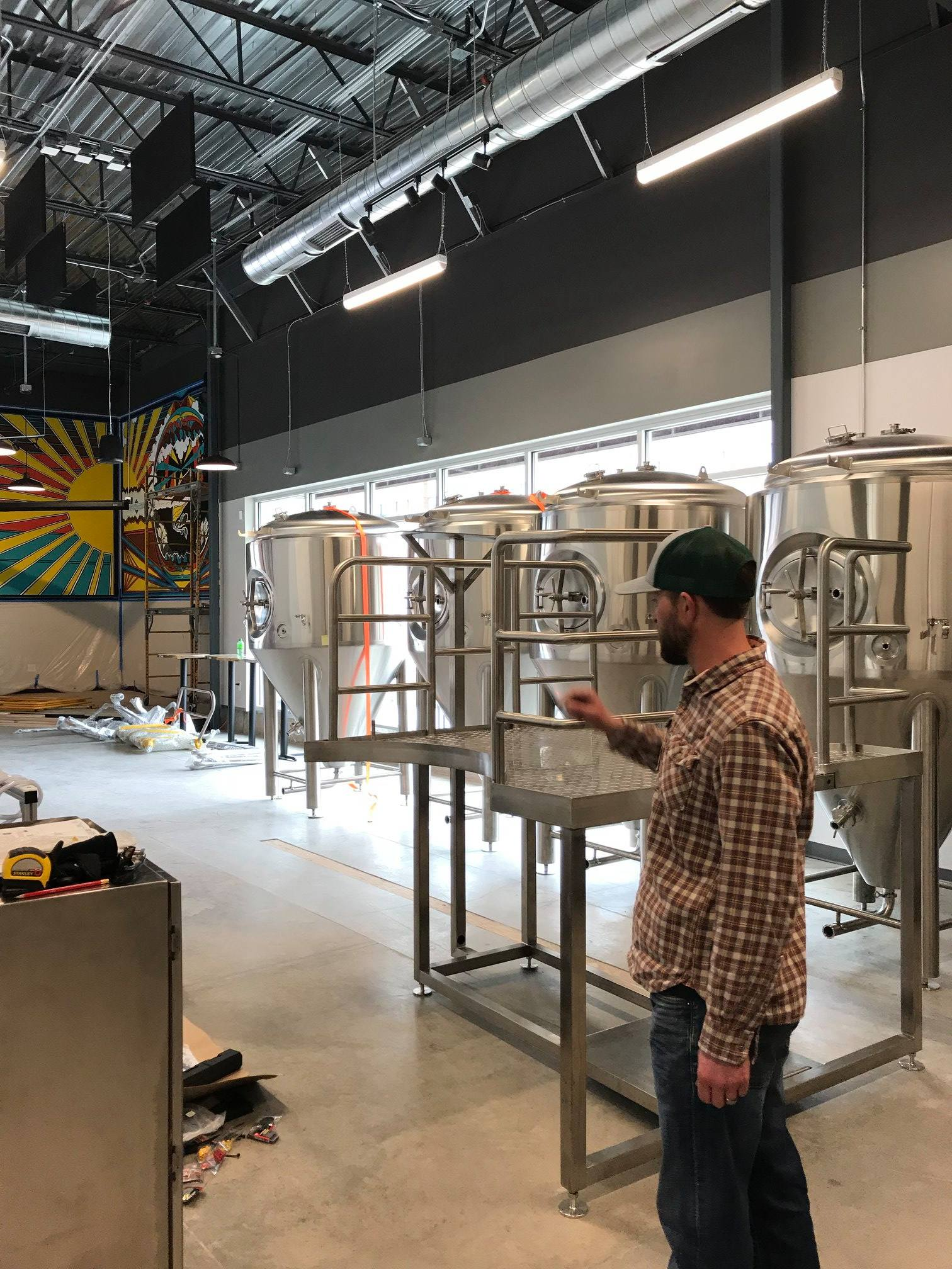 Jason Bilodeaux, Master Brewer, in Over Yonder Brew House