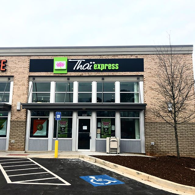 Thai express coming soon the the up and rising part of Decatur! Happy we were able to get back over this way again in 2018 and help this area grow!