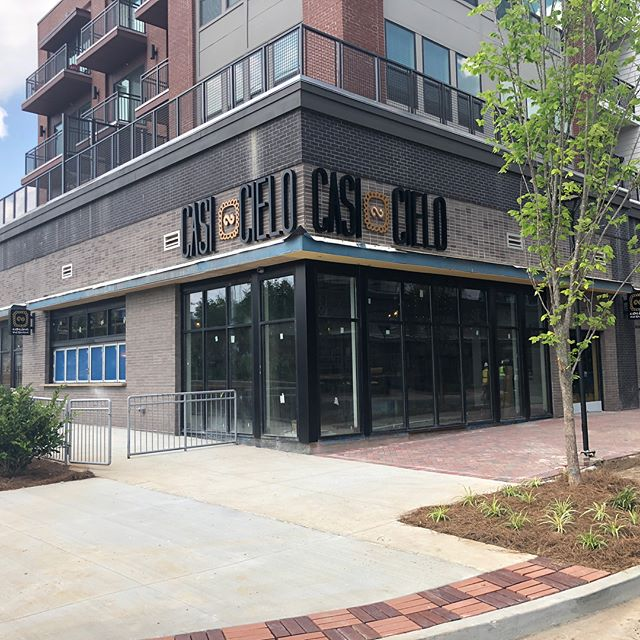 Brite Atlanta has contracted with U.S. General on this Mexican Restruant in Sandy Springs! We will be performing a Final Clean & Touch Up cleanings as well as pressure washing! This fine restaurant will be opening soon!
