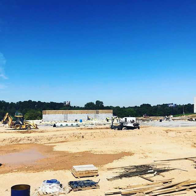 Here we go again with another one! We super excited for this warehouse and mechanics shop that @cummins is building in south Atlanta! We are ready for this building to go up! In addition, we want to thank @laytonconstruction for allowing us to partner with them on this project! #postconstructioncleaningatlanta #constructioncleaningatlanta #constructioncleaning #warehousecleaning