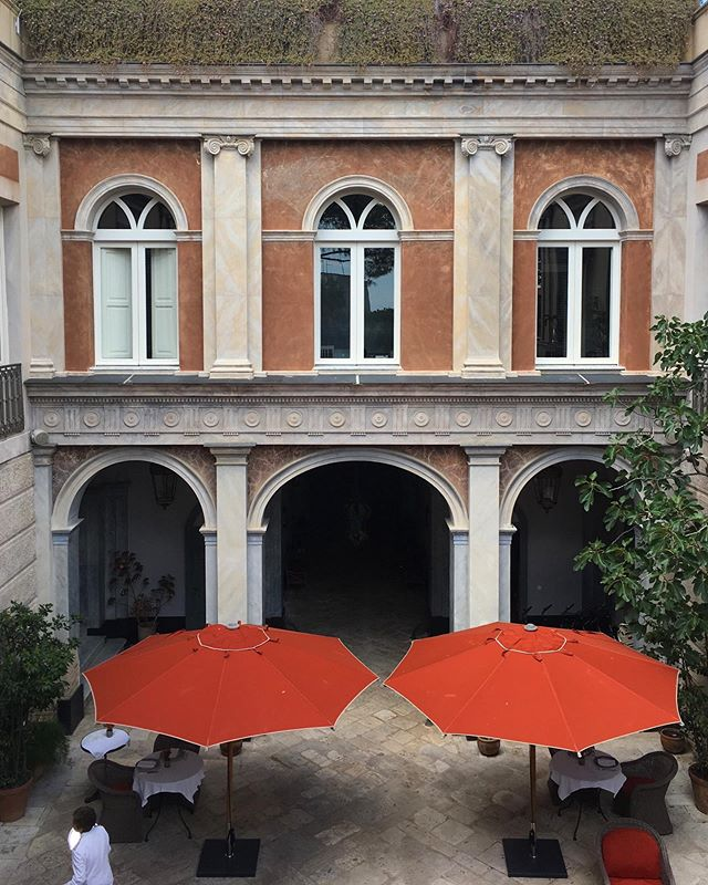 "The Godfather of Palazzos - the Coppola family's ""Palazzo Margherita"" #exteriors #architecture #interiorstofollow #basilicata #italia #historico #formerglory"