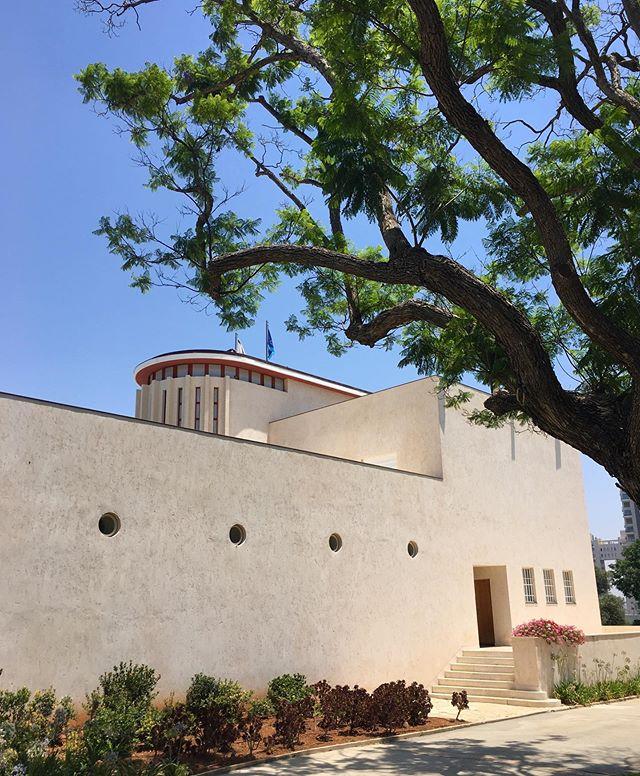 Weizmann House, home of Israel's first President #artdeco #internationalstyle #streamlinemoderne #formerglory