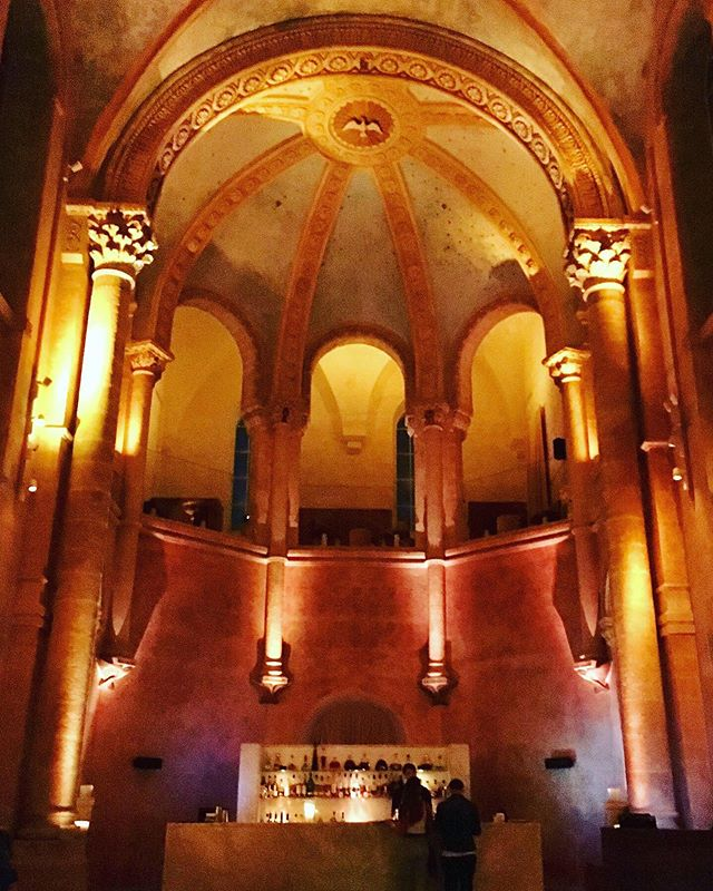 And then there's the bar - The Chapel @thejaffahotel by @johnpawson #religiiouscocktails #formerglory