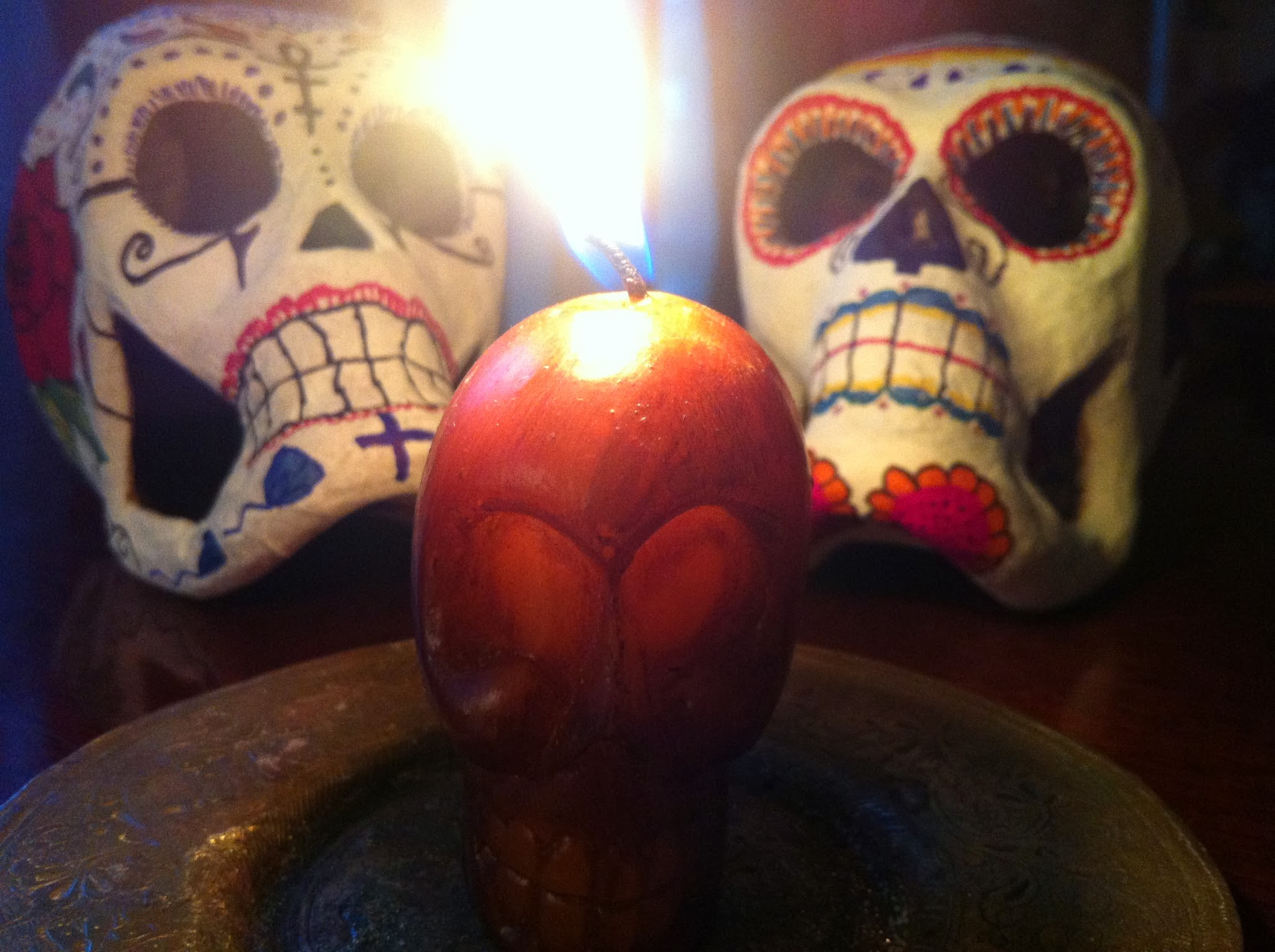 November: Santa Muerte