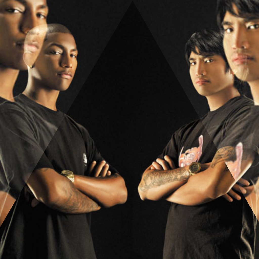 Pharrell, Chad, Neptunes Gold -