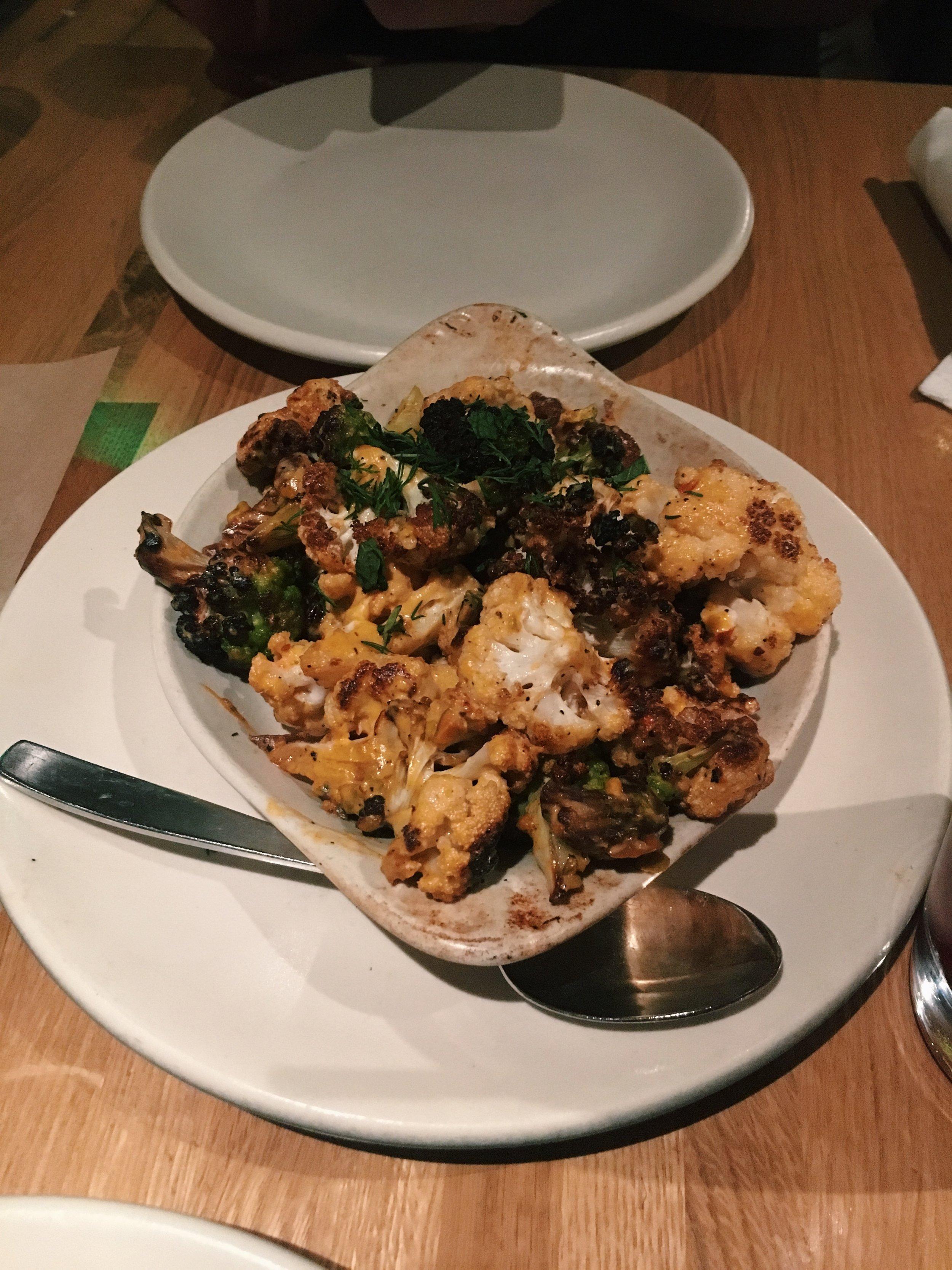 Charred Cauliflower (V GF) -