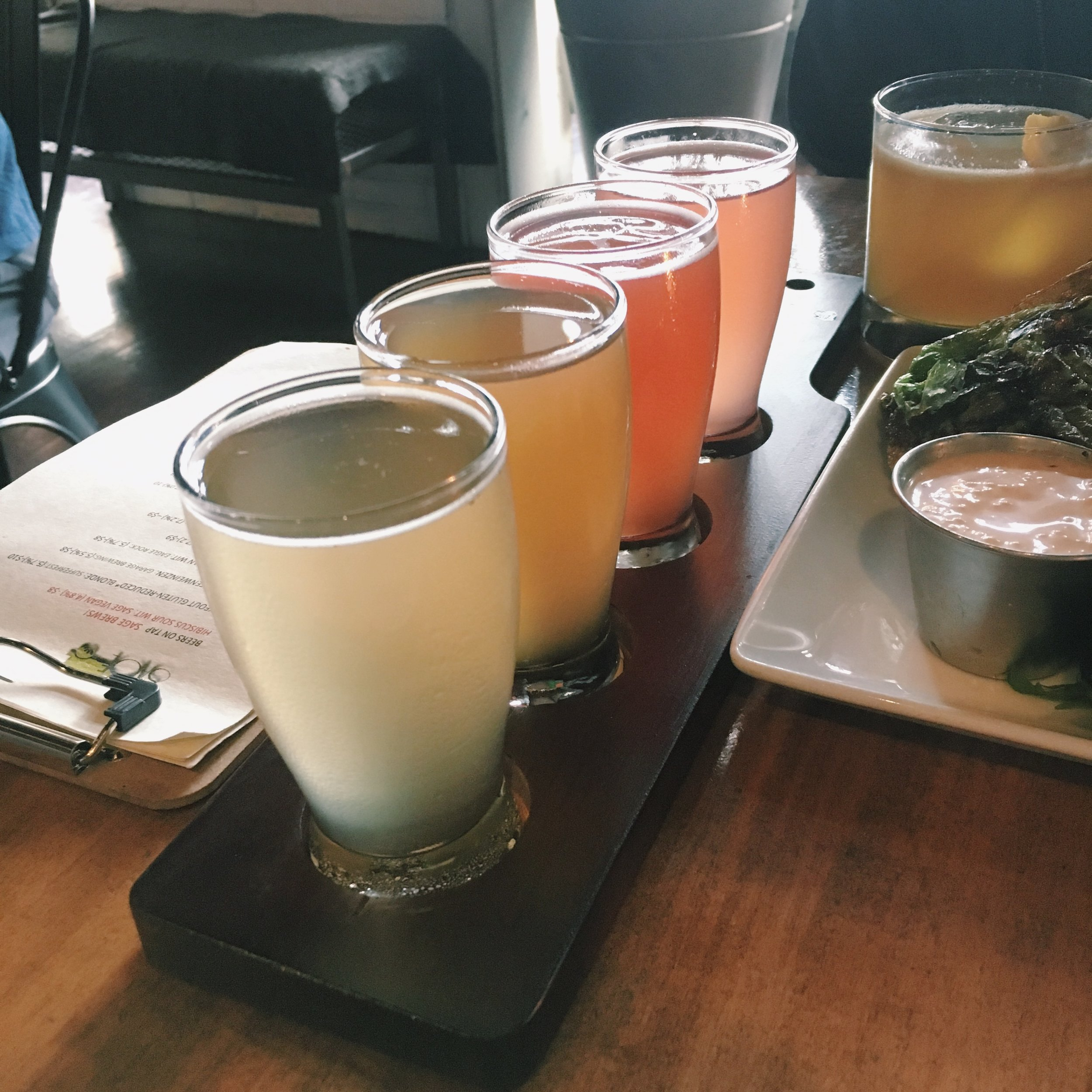 Kombucha Flight -