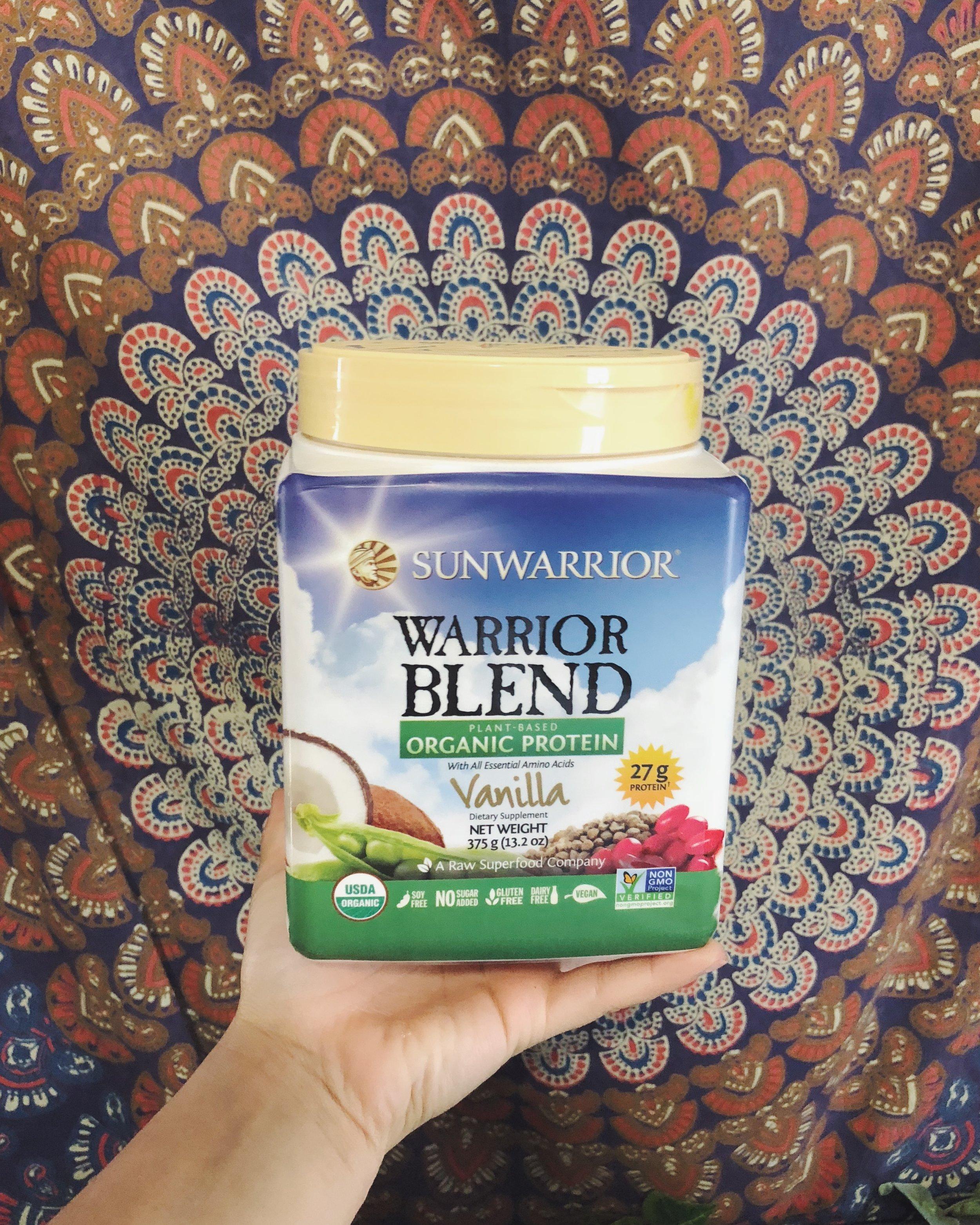 sunwarrior protein // eat drink vegan