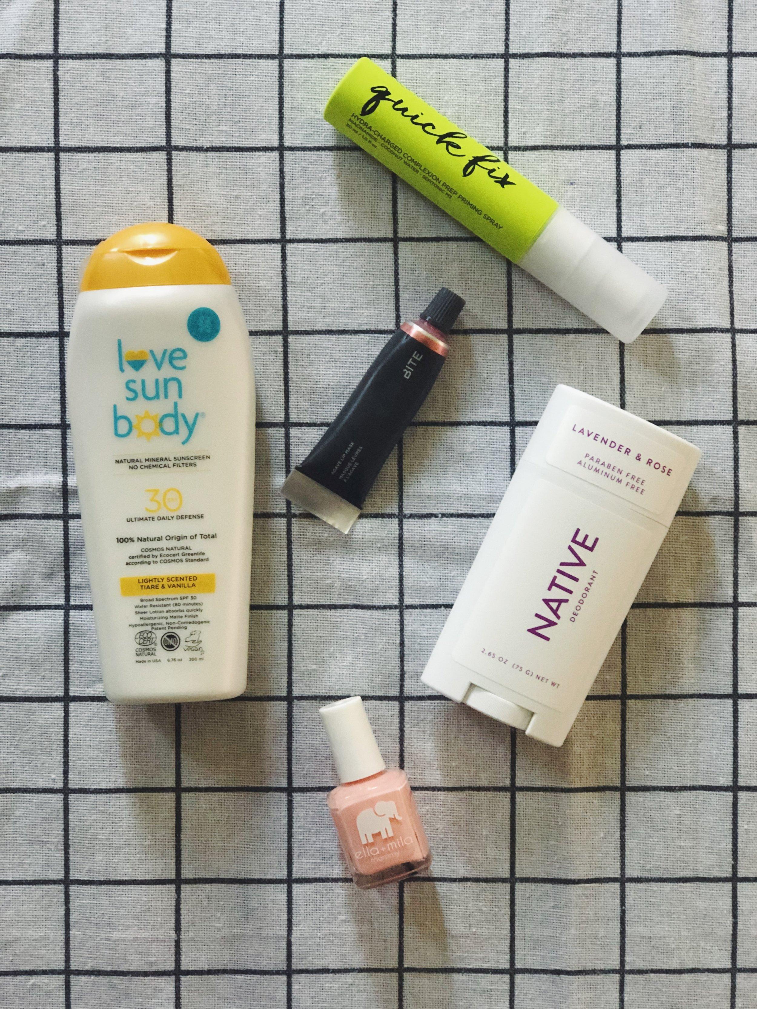 summer 2019 beauty essentials