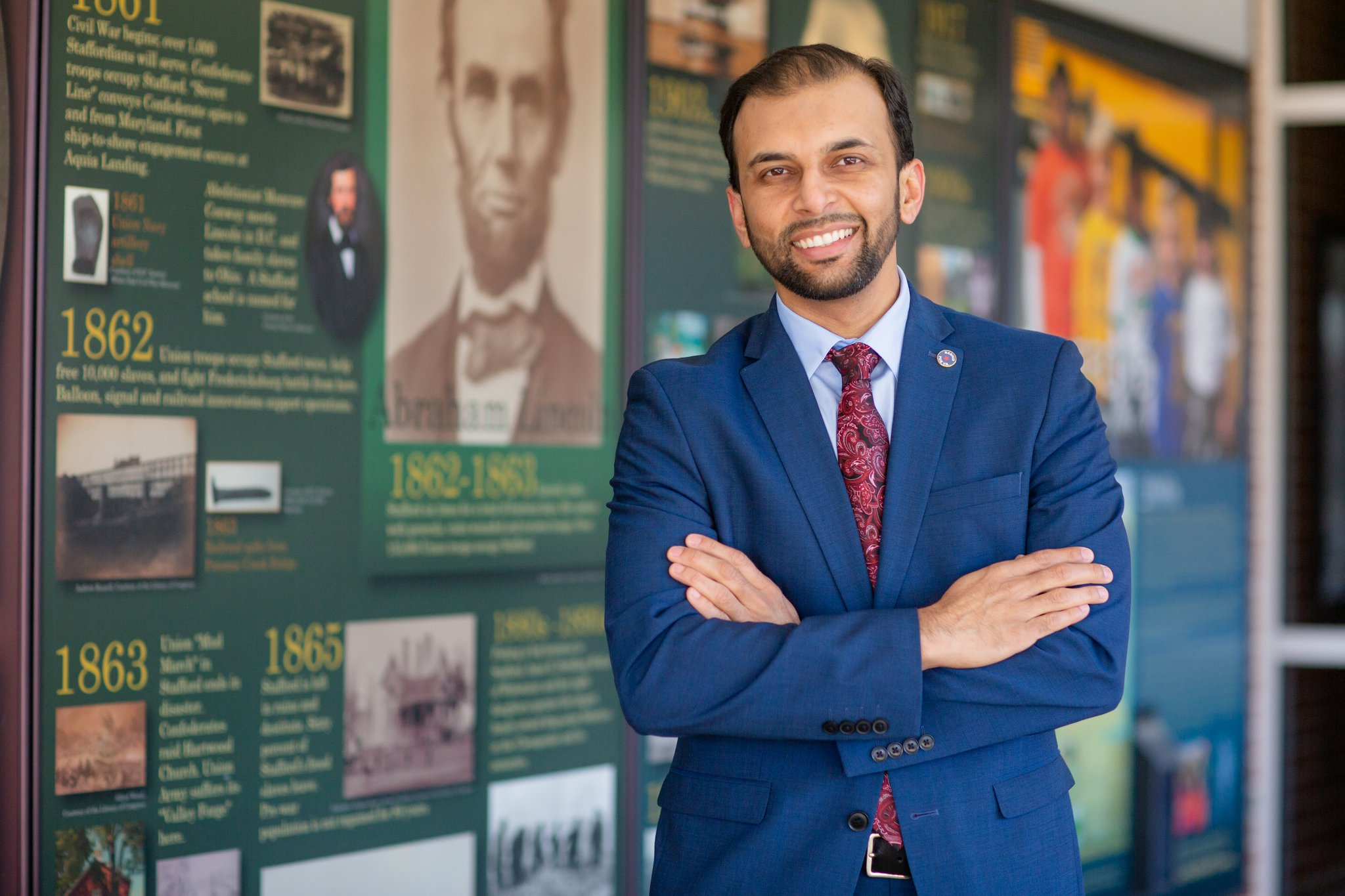 Qasim Rashid is an author, activist, and attorney running for State Senate in Virginia's 28th District.